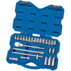 """DRAPER Expert 25 Piece 1/2"""" Sq. Dr. MM/AF Combined Socket Set"""
