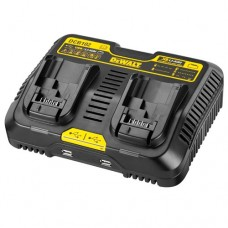 Dewalt DCB102 Twin Port Charger & USB 10.8v - 18v