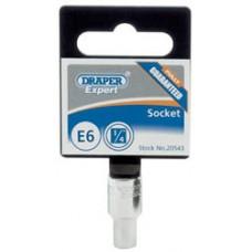 """DRAPER Expert E5 1/4"""" Square Drive Tx-Star Socket"""