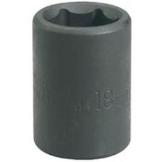 """DRAPER Expert 21mm 1/2"""" Square Drive Impact Socket"""