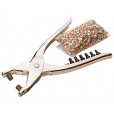 DRAPER 210mm Interchangeable Hole Punch and Eyelet Pliers