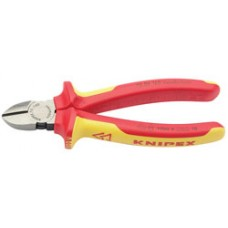 DRAPER Expert Knipex 125mm Fully Insulated Diagonal Side Cutters