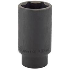 "DRAPER Expert 32mm 1/2"" Square Drive Deep Impact Socket"