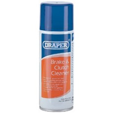 DRAPER 400ml Brake and Clutch Cleaner Spray