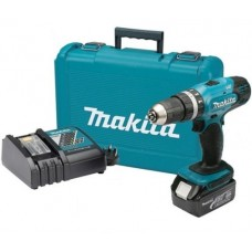 MAKITA DHP453 18V COMBI 1 X 3.0AH BATTERY CHARGER + CASE
