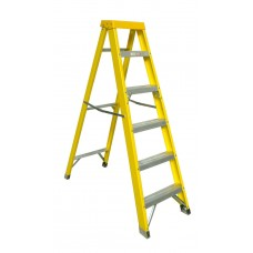 Zarges 6 Tread GRP Swingback step ladder
