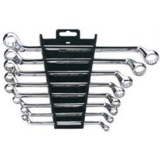DRAPER Expert 8 Piece Hi-Torq  Deep Offset Metric Ring Spanner Set