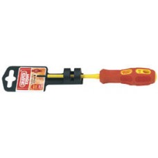 DRAPER Expert 2.5mm x 75 mm Fully Insulated Plain Slot Screwdriver