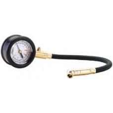 DRAPER Tyre Pressure Gauge with Flexible Hose