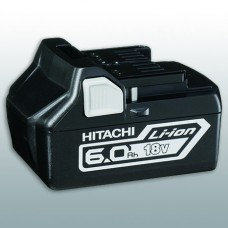 HITACHI BSL1860 6AH 18V LI-ION SLIDE ON BATTERY