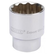 "DRAPER Expert 26mm 1/2"" Square Drive Hi-Torq  12 Point Socket"