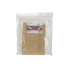 BOSCH GAS 35M PAPER FILTER BAGS 5 PACK 2607432035
