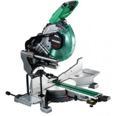 HiKOKI C3610DRA/JAZ MULTIVOLT DUAL BEVEL MITRE SAW 254MM 2 X 8.0/4.0ah KIT