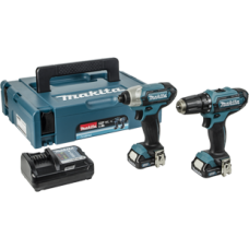 Makita 10.8v CXT 2 Piece Kit- CLX201AJ