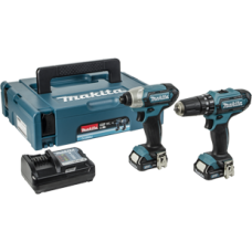Makita- 10.8v CXT 2 Piece Kit-CLX202AJ