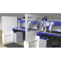 Workstation Divider 920mm Height (Social Distancing)