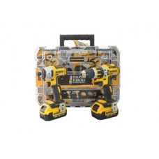 Dewalt DCK259M2TH Help for Heroes 18V XR li-ion Twinpack (2 x 4Ah Batteries) - TStak Box