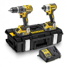 DEWALT DCK266P2T 18V BRUSHLESS COMBI + BRUSHLESS IMPACT 2 X 5.0AH BATTS