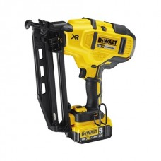 DEWALT 18V XR LI-ION BRUSHLESS 16GA SECOND FIX NAILER 5.0AH KIT-DCN660P2