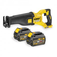 DEWALT DCS388T2 54V BRUSHLESS FLEXVOLT RECIPROCATING SAW 2X X 6.0AH BATTS