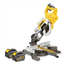 DEWALT DCS777T2 54V FLEXVOLT MITRE SAW 2 X 6.0AH BATTERIES