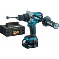 Makita DHP481SP1R 18v Brushless Combi Drill Anniversary Edition