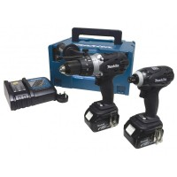 Makita DLX2005 18v 3.0ah Black Edition Twin Kit