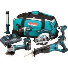 Makita DLX6044PT 18VLXT Lithium-Ion Cordless Kit with 3 x 4Ah Batteries - (6 Pieces)