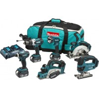 Makita DLX6012PM 18v 4.0AH 6 Piece Kit