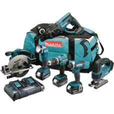 Makita DLX6068PT 18v 5.0AH 6 Piece Kit