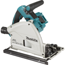 MAKITA DSP600ZJ TWIN 18V CORDLESS PLUNGE SAW BODY ONLY IN CARRY CASE