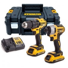 Dewalt DCK2059D2T Brushless Impact & Drill Driver Twin Pack