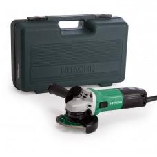 "Hitachi G12STX 4 1/2"" grinder with Diamond Blade and Case"