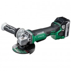 HITACHI G18DBAL/JJ 18V BRUSHLESS 115MM GRINDER KIT 1 X 5.0AH BATTERIES