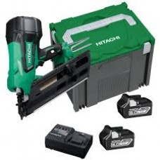 HITACHI NR1890DBCL 18V BRUSHLESS FRAMING NAILER 2 X 5.0AH BATTERIES