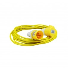 SPECTRE 10M YELLOW EXTENSION LEAD 3G 1.5MM 16A CABLE 110V