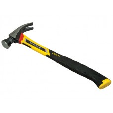 Stanley FatMax Vibration Dampening Curved Claw Nailing Hammer 400g (14oz)