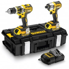 Dewalt DCK250M2 18V Li-Ion Brushless Twin Kit