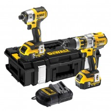 Dewalt DCK255P2 18V Li-Ion Brushless Twin Pack
