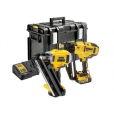 DEWALT  XR BRUSHLESS NAILER TWIN PACK 18V 2 X 5.0AHLI-ION DCK264P2