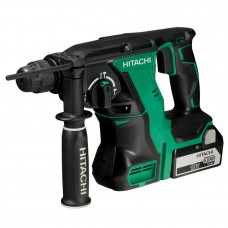 Hitachi DH18DBL 18V Brushless sds rotary Hammer 2 x5ah Batteries in Carry Case