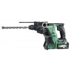 HIKOKI DH36DPA-KIT  MULTI-VOLT 36V  BRUSHLESS SDS ROTARY HAMMER 2 X 2.5AH BATTS