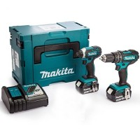 Makita DLX2131J 18v 3.0AH Twin Kit