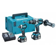Makita DLX2176 18V 3.0Ah Brushless Twin Pack