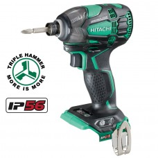 Hitachi WH18DBDL2 Brushless Impact Driver - Body Only